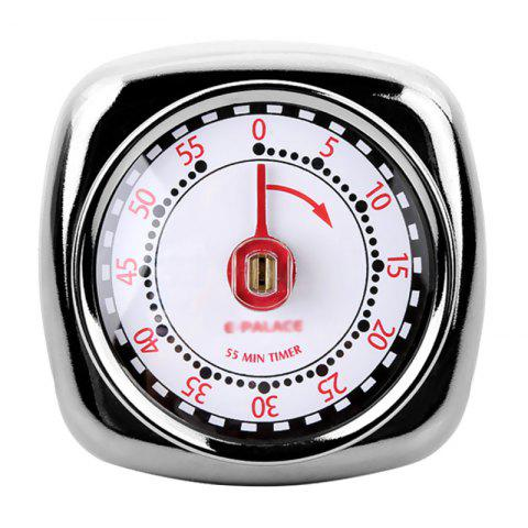 Stainless Steel Mechanical Magnetic Suction Timer - SILVER