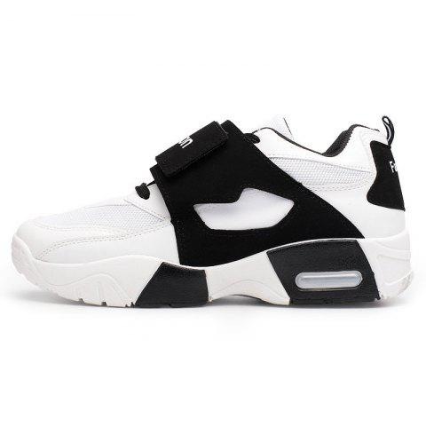 Spring Students Wild Version Breathable Sports Shoes for Man - WHITE 41