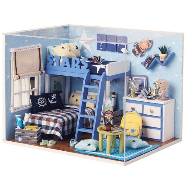 DIY Jigsaw Puzzle Hand-assembled Cottage Small House Model Toy Set 277576101