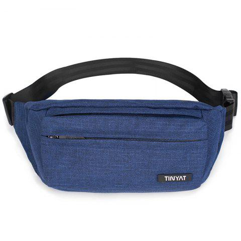TINYAT T251 Waterproof Waist Bag - BLUE