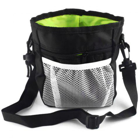 Outdoor Portable 2 - in - 1 Foldable Dog Bag - BLACK