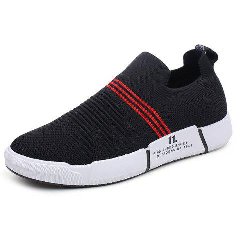 Fashion Casual Breathable Running Spring Autumn Sports Shoes for Man - CHESTNUT RED 40