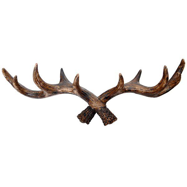 Vintage Style Antler Shaped Hooks for Home Decoration