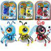 Novelty Electric DIY Assembled Insects Toy Set for Kids - multicolor B