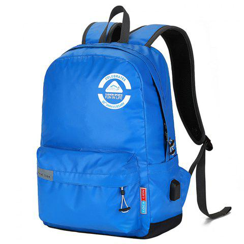 Outdoor Locallion 18536 Waterproof Backpack - BLUE