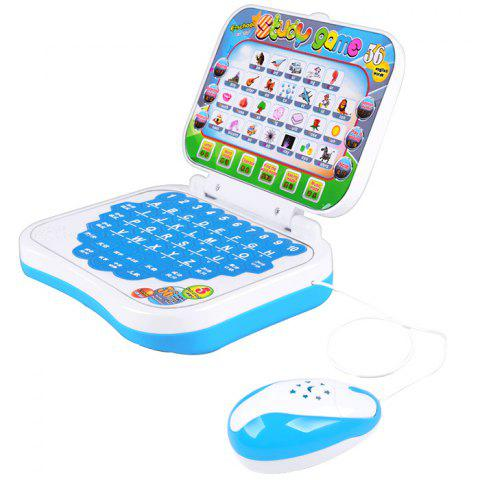Multifunctional Learning Machine Education Computer Toy for Intelligence Development - DEEP SKY BLUE