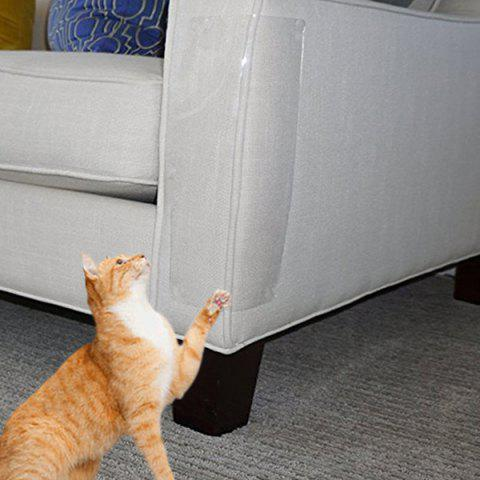 Furniture Protector Cat Scratching Guard for Sofa Couch Chair - TRANSPARENT