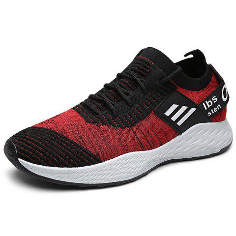 Casual Fashion Non-slip Shoes for Man - RED 40