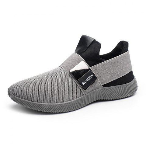 Breathable Sports Shoes for Men - GRAY CLOUD 40