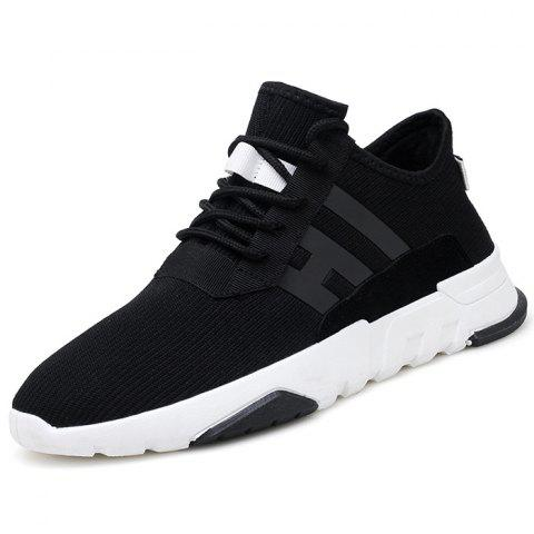 Fashion Non-slip Breathable Casual Shoes for Man - BLACK 42