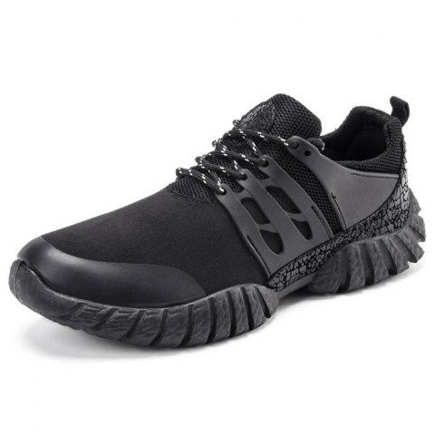 Spring Daily Fashion Casual Shoes for Man - BLACK 40