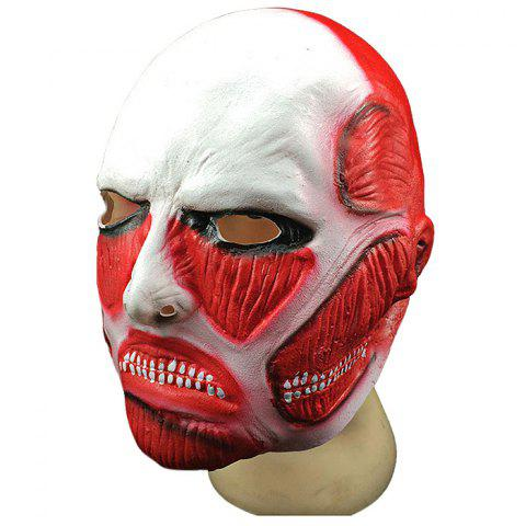 Cartoon Creative Mask Cosplay Props - FIRE ENGINE RED 29CM-30CM