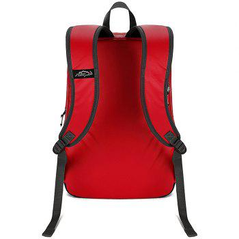Outdoor Locallion 18536 Waterproof Backpack - FIRE ENGINE RED