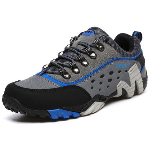 Breathable Non Slip Sneakers for Outdoor Sports - ROYAL BLUE 45