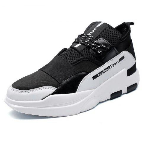 Sports Leisure Personality Wild Thick-soled Shoes for Man - WHITE 42
