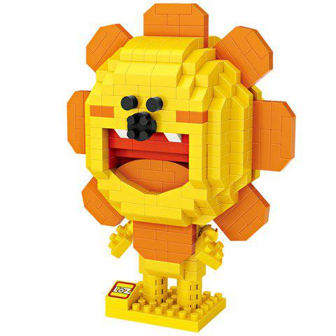 LOZ Block 3D Puzzle Set Fun Educational Toy - RUBBER DUCKY YELLOW