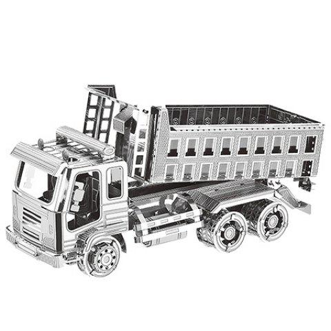 3D Metal Puzzle Self-discharging Truck Assemble Model for Children