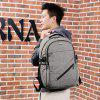Fashion USB Port Design Man Backpack - JET GRAY