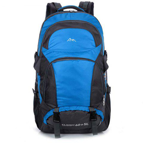 HUWAIJIANFENG 818 Large Capacity Backpack - WINDOWS BLUE