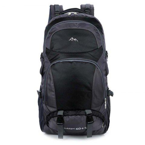 HUWAIJIANFENG 818 Large Capacity Backpack - BLACK