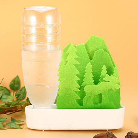 Creative DIY Unplugged Eco-friendly Natural Humidifier - YELLOW GREEN