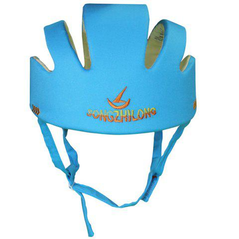 Infant Toddler Head Protective Pad Baby Anti-fall Cap Hat - BUTTERFLY BLUE
