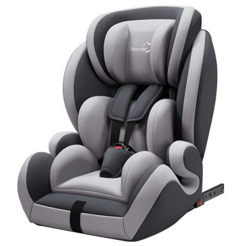 Happybe Adjustable Comfortable Car Safety Seat for Baby - GRAY