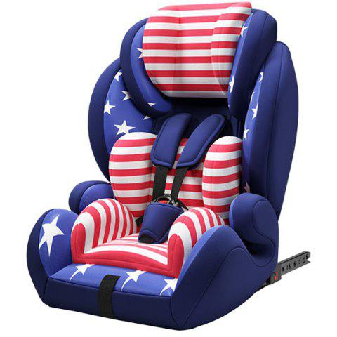 Happybe Adjustable Comfortable Car Safety Seat for Baby - BLUEBERRY BLUE