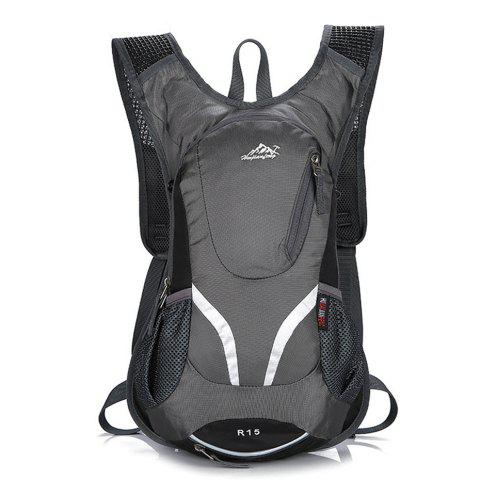 Waterproof Backpack 15L Outdoor Travel Hiking Bag - GRAY