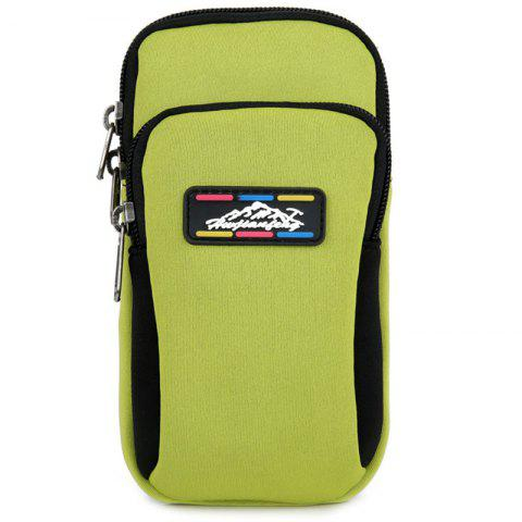 HUWAIJIANFENG B002 Casual Arm Bag - SALAD GREEN