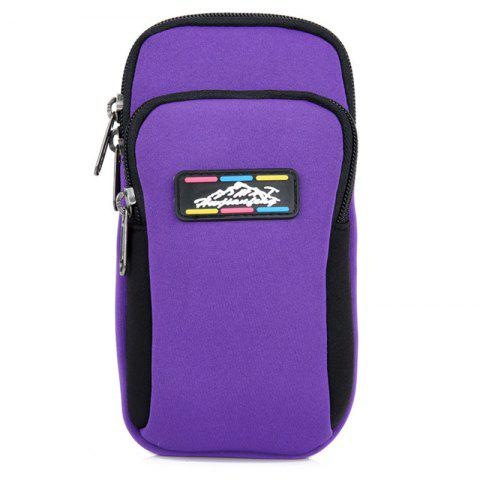 HUWAIJIANFENG B002 Casual Arm Bag - DARK ORCHID