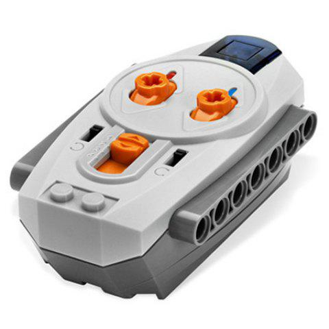 Educational Motor Shape Building Block for Children's Toys - GRAY CLOUD ORDINARY REMOTE CONTROL