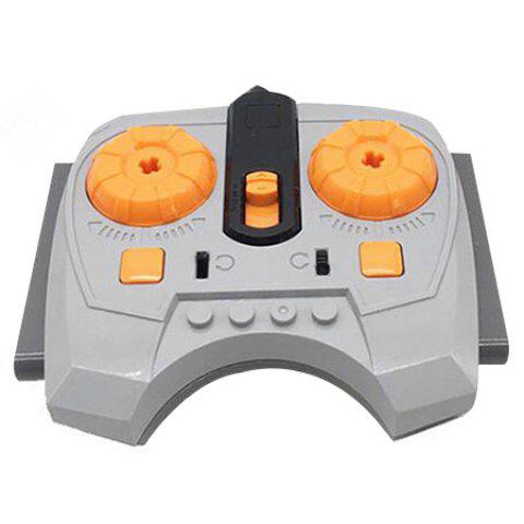 Educational Motor Shape Building Block for Children's Toys - GRAY CLOUD SPEED CONTROL REMOTE CONTROL