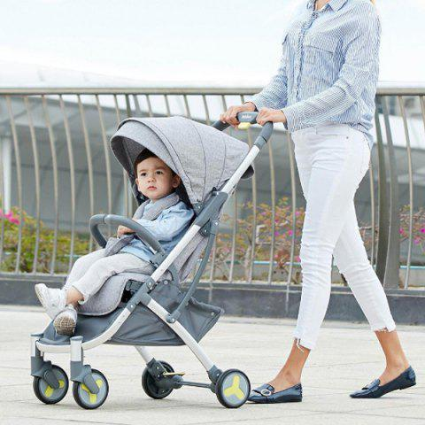 Xiaomi Youpin Lightweight Portable Stroller for Baby - BLUE GRAY