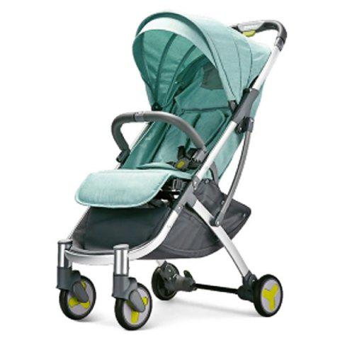 Xiaomi Youpin Lightweight Portable Stroller for Baby - LIGHT AQUAMARINE