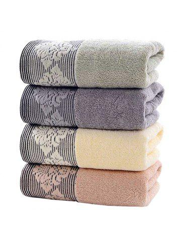 Thickened Home Water Absorbent Soft Face Cotton Towel for Adult 4 PCS