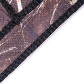 Multifunctional Apron for Outdoor Camping Grilling BBQ Accessory  - DULL PURPLE
