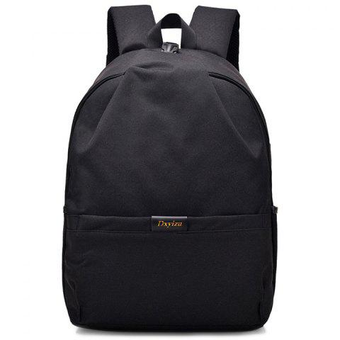 Comfortable Convenient Backpack for Putting Stuff - BLACK