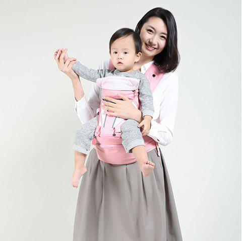 Xiaomi Youpin Multi-function Baby Carrier Waist Stool Infant Hip Seat - LIGHT PINK