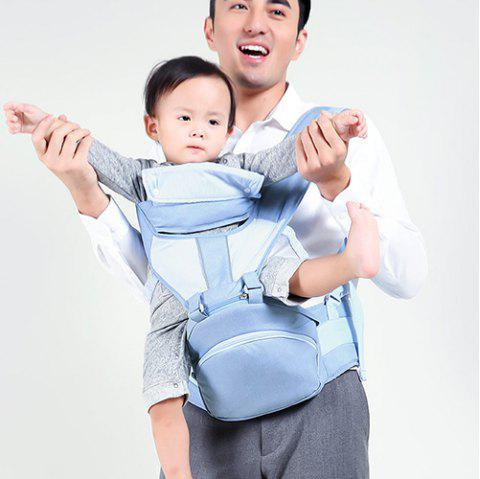 Xiaomi Youpin Multi-function Baby Carrier Waist Stool Infant Hip Seat - DAY SKY BLUE
