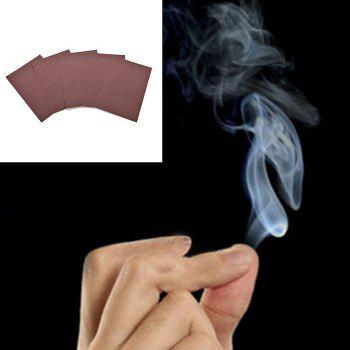 Magic Trick Fumée de Finger Surprise Prank Joke Mystical Fun Toy 1pc - Brun