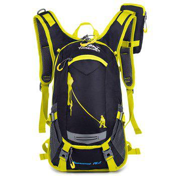 HUWAIJIANFENG Fashion Outdoor Breathable Water-resistant Cycling Backpack - CHILLI PEPPER