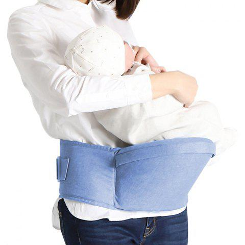Comfortable Portable Baby Waist Stool from Xiaomi Youpin - DENIM BLUE SINGLE WAIST STOOL