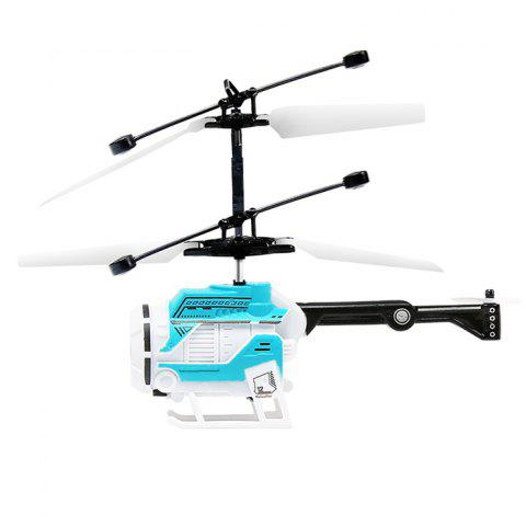 Creative Inductive Helicopter Suspension Flying Toy for Kids - BUTTERFLY BLUE