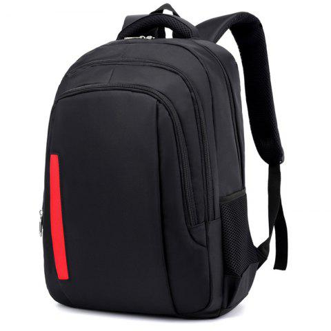 2019 Stylish Large Capacity Water-resistant Laptop Backpack In BLACK ... 51a5cc32e0f06