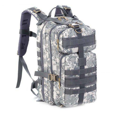 HUWAIJIANFENG 30L Solid Color Nylon Backpack for Outdoor Sports - ACU CAMOUFLAGE