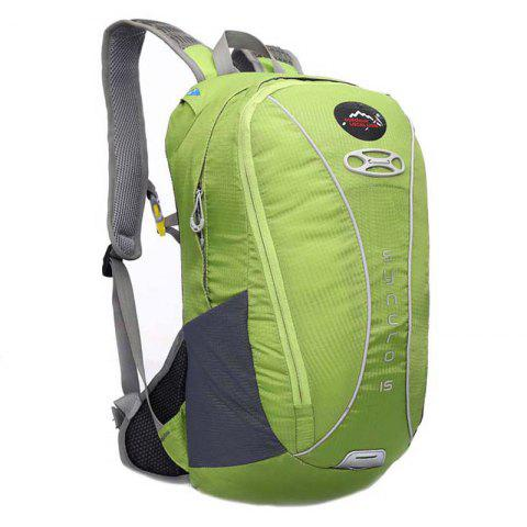 OutdoorLocallion Nylon Light Weight Backpack for Cycling Hiking - MINT GREEN