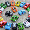 Trendy Pull Back Mini Car Toy for Kids 3pcs - multicolor A