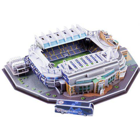 3D Football Field Jigsaw Puzzle - multicolor A STAMFORD BRIDGE (UK)