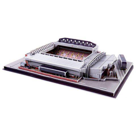 3D Football Field Jigsaw Puzzle - multicolor A ANFIELD (UK)